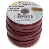 Flat Leather 5X2mm (10m Spool) Metallic Red